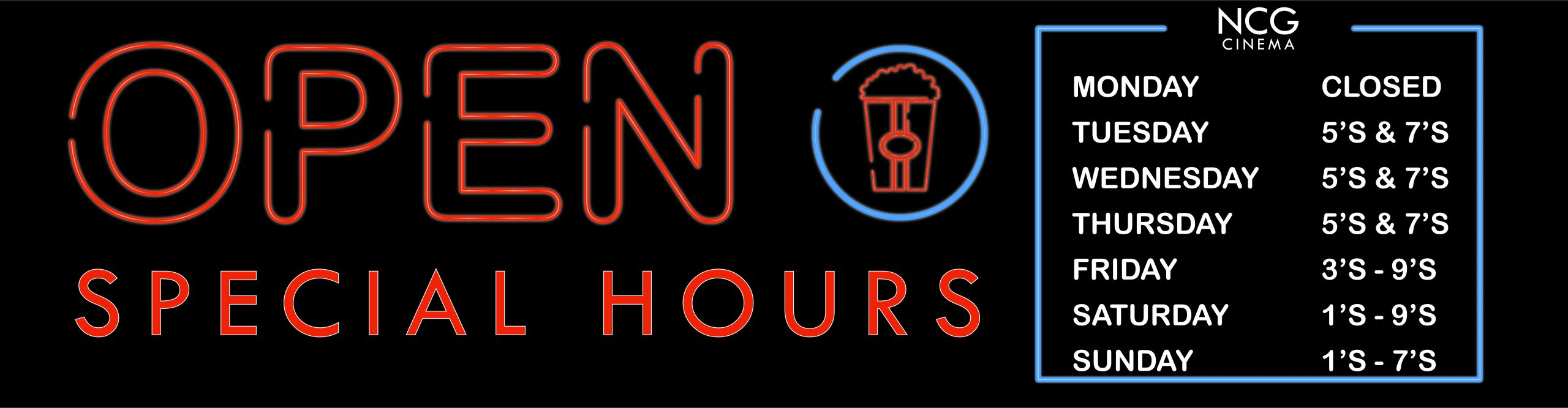 hours_Special Hours